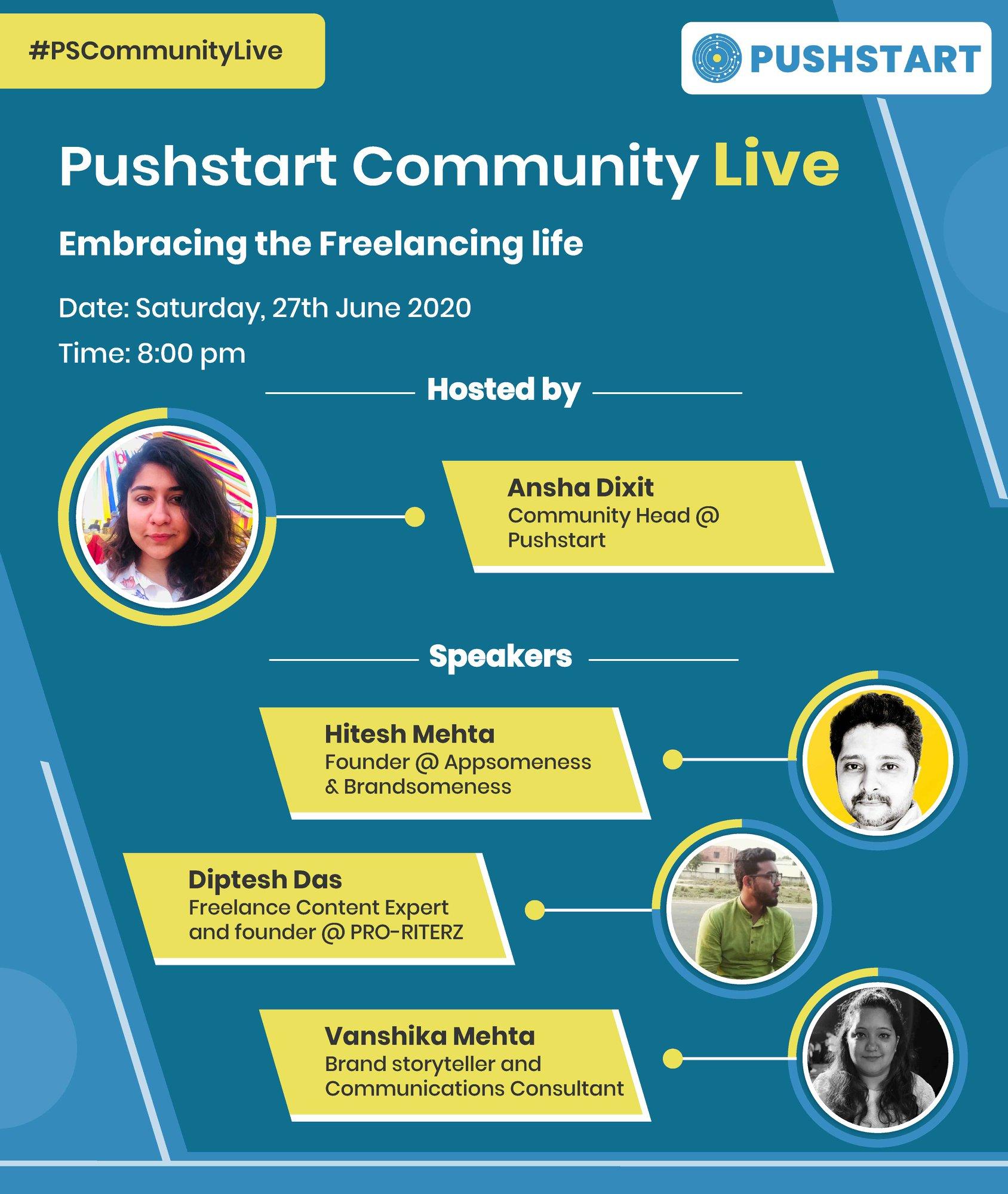 Embracing the freelancing lifestyle, Pushstart [27 June 2020]